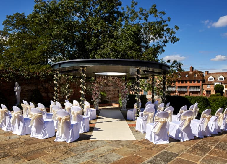 Romantic weddings, special events